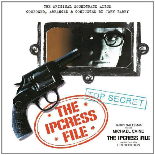 JOHN BARRY IPCRESS FILE AND 7INCH LP DELUXE 180 GRAM LP VINYL 33RPM NEW