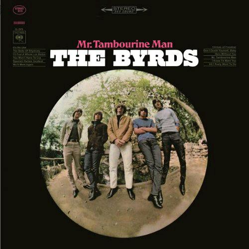 BYRDS MR TAMBOURINE MAN LP VINYL 33RPM NEW