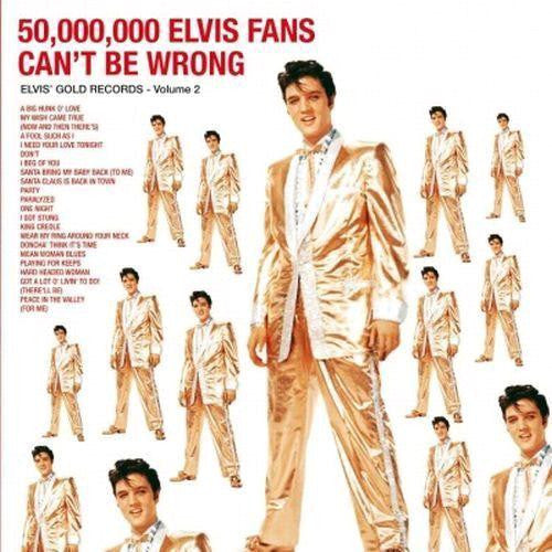 ELVIS PRESLEY 50000000 ELVIS FANS CANT BE WRONG LP VINYL 33RPM NEW