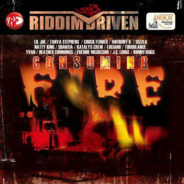 RIDDIM DRIVEN CONSUMING FIRE REGGAE HALL LP VINYL NEW 33RPM
