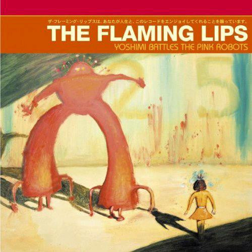 FLAMING LIPS YOSHIMI BATTLES PINK ROBOTS NEO TO SPACE LP VINYL NEW