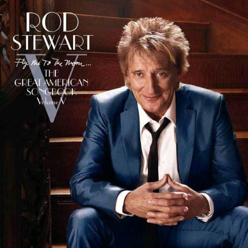 ROD STEWART FLY ME TO THE MOON 2010 DELUXE 180 GRAM 2 LP VINYL 33RPM NEW
