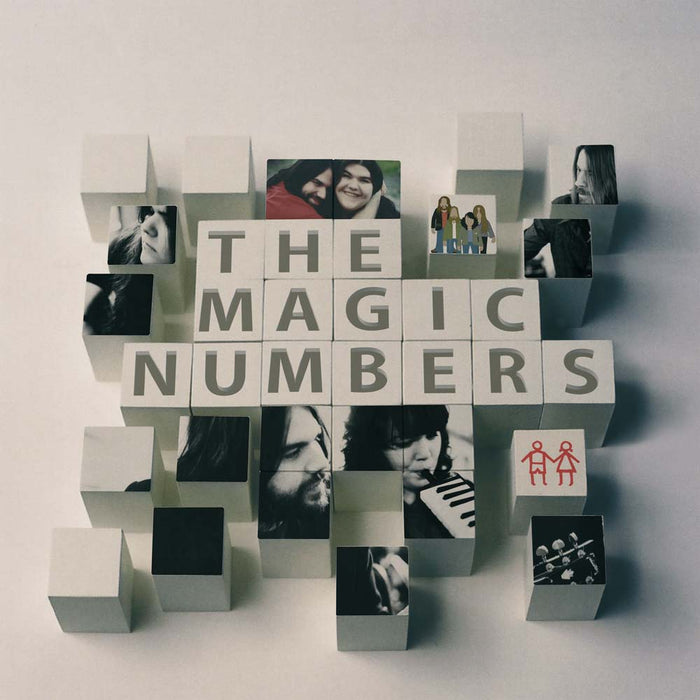 "The Magic Numbers - Magic Numbers Vinyl LP & 7"" Crystal Clear RSD Aug 2020"