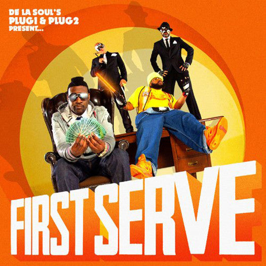 DE LA SOUL FIRST SERVE LP VINYL 33RPM NEW DOUBLE LP