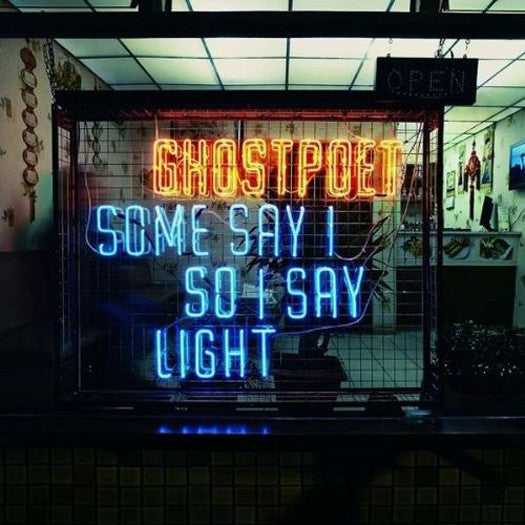 GHOSTPOET SOME SAY I SO I SAY LIGHT DOUBLE LP VINYL NEW 33RPM 2013