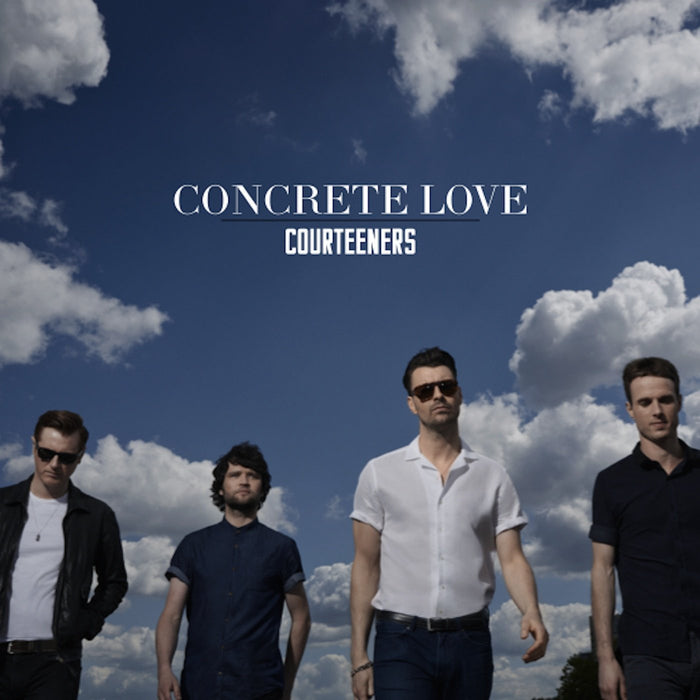 COURTEENERS CONCRETE LOVE LP VINYL 33RPM NEW LIMITED EDITION