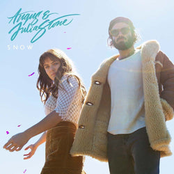 ANGUS & JULIA STONE Snow DOUBLE LP Clear Vinyl Indies Only NEW 2017
