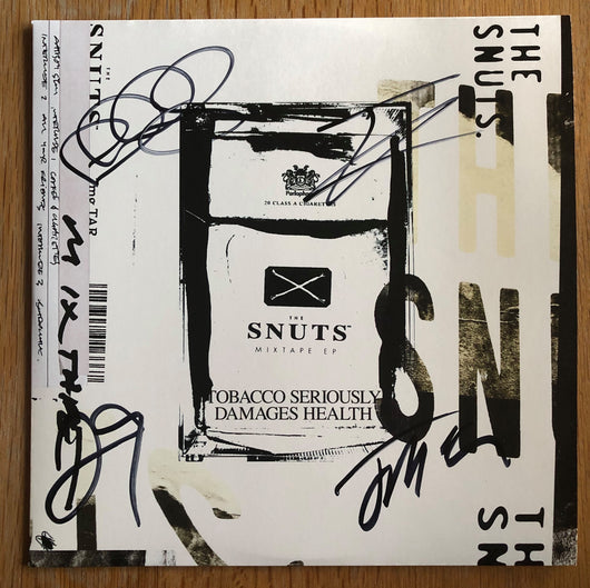 The Snuts Mixtape EP Signed 12