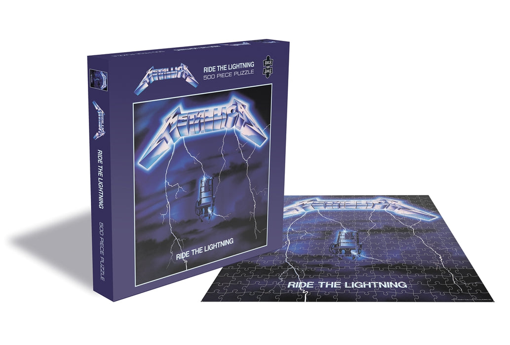 Metallica Ride The Lightning 500 Piece Jigsaw Puzzle