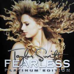 TAYLOR SWIFT Fearless LP Clear & Gold Vinyl Platinum Edition NEW RSD2018