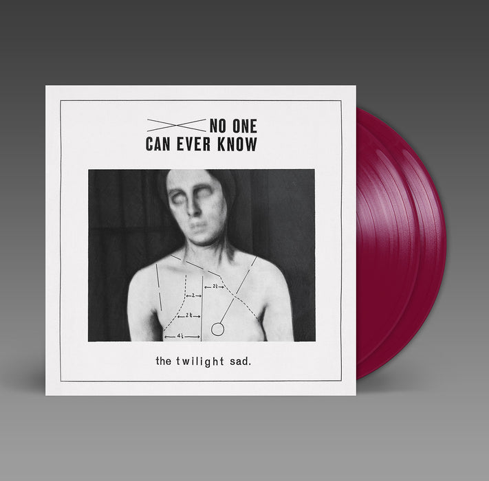 The Twilight Sad No One Can Ever Know Vinyl LP Ltd Red Burgundy Colour 04/09/20