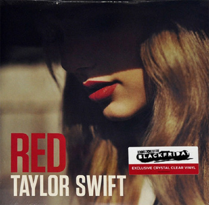 Taylor Swift Red Limited Clear Vinyl LP 2018
