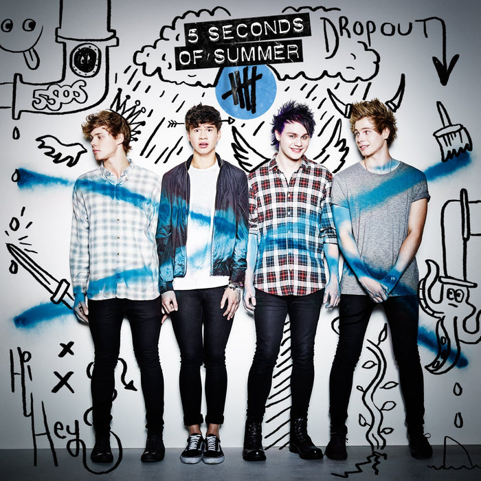 5 SECONDS OF SUMMER 5 SECONDS OF SUMMER LP VINYL NEW 2014 33RPM