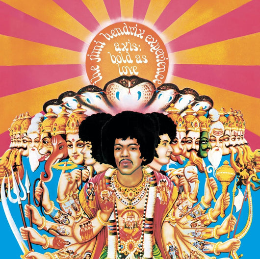 JIMI HENDRIX EXPERIENCE AXIS BOLD AS LOVE LP VINYL NEW 33RPM