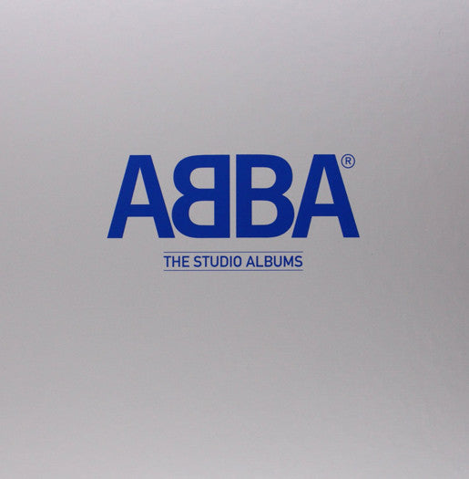 ABBA ABBA THE STUDIO S LP VINYL NEW 33RPM BOX SET