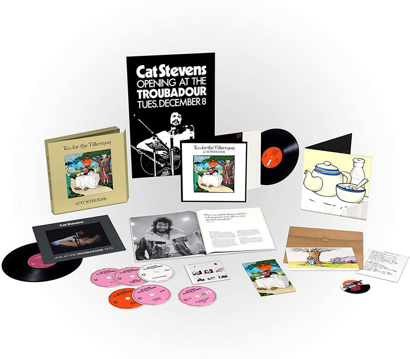 Cat Stevens - Tea For The ... Super Deluxe Vinyl LP Boxset 2020
