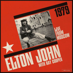 Elton John & Ray Cooper - Live From Moscow  Vinyl LP New Out 24/01/20