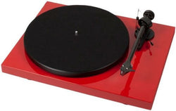 PRO-JECT DEBUT CARBON TURNTABLE GLOSS RED BOXED NEW PROJECT