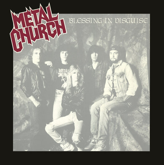 METAL CHURCH BLESSING IN DISGUISE LP VINYL 33RPM NEW