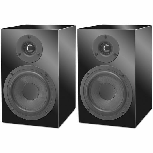 Pro-Ject Speaker Box 5 Gloss Black Passive Bookshelf Speakers (Pair)
