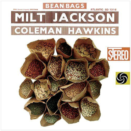 MILT JACKSON AND COLEMAN HAWKINS BEAN BAGS JAZZ LP VINYL NEW 33RPM