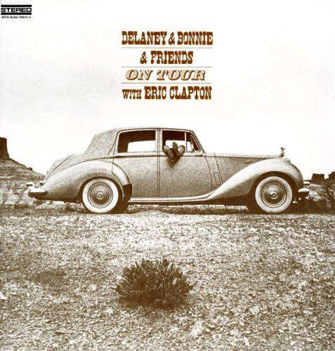 DELANEY AND BONNIE ON TOUR WITH ERIC CLAPTON LIVE LP VINYL NEW 33RPM
