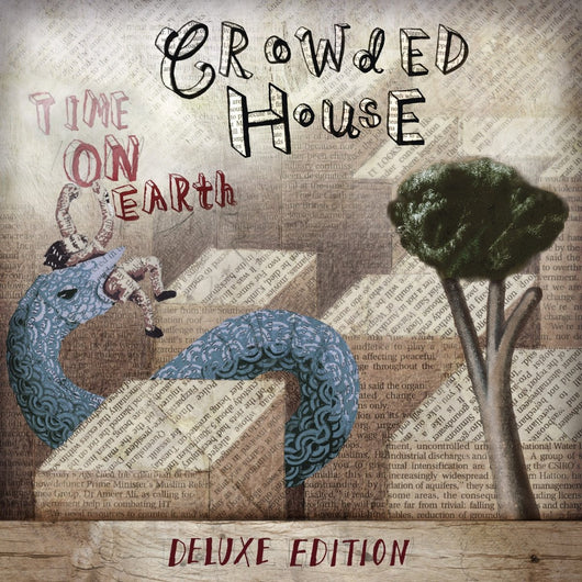 CROWDED HOUSE Time On Earth LP Vinyl NEW