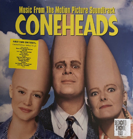 Coneheads Soundtrack Limited Yellow Vinyl LP New RSD 2019