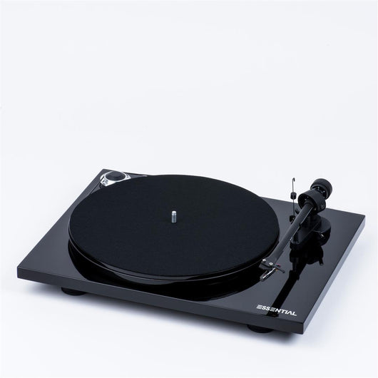 Pro-Ject Essential III Phono Piano Black Turntable