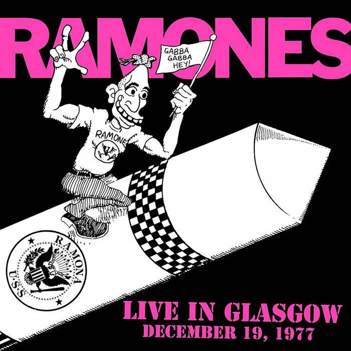 Ramones Live In Glasgow December 19 1977 Ltd Vinyl LP New 2018
