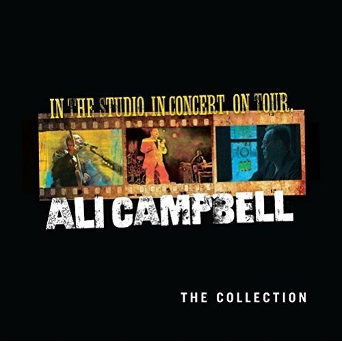 ALI Campbell In The Studio, In Concert, On Tour LP Vinyl, CD & DVD Box-Set NEW 2016