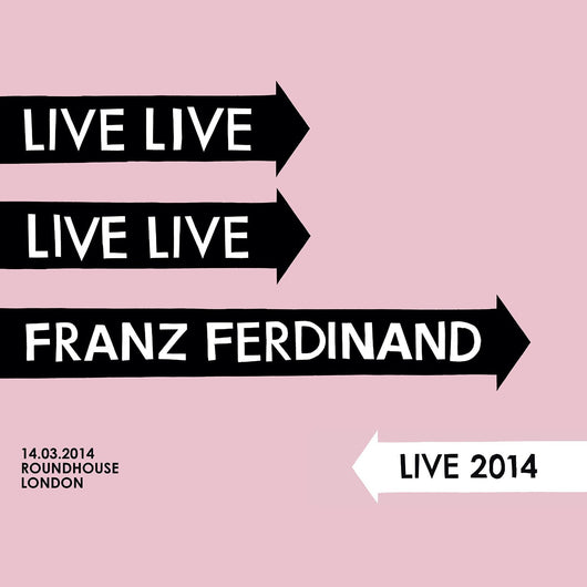 FRANZ FERDINAND LIVE 2014 DOUBLE LP VINYL NEW 33RPM