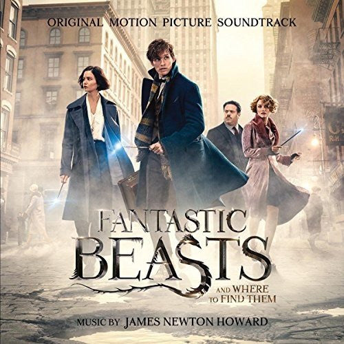FANTASTIC BEASTS AND WHERE TO FIND THEM Soundtrack LP Vinyl NEW 2017 Limited