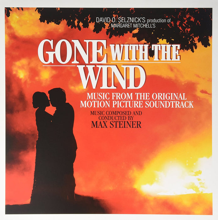 GONE WITH THE WIND Max Steiner SOUNDTRACK LP Vinyl NEW 2015