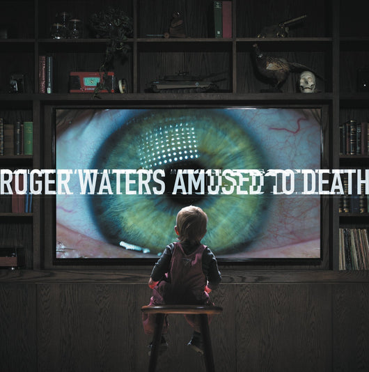 ROGER WATERS AMUSED TO DEATH DOUBLE LP VINYL NEW 33PM