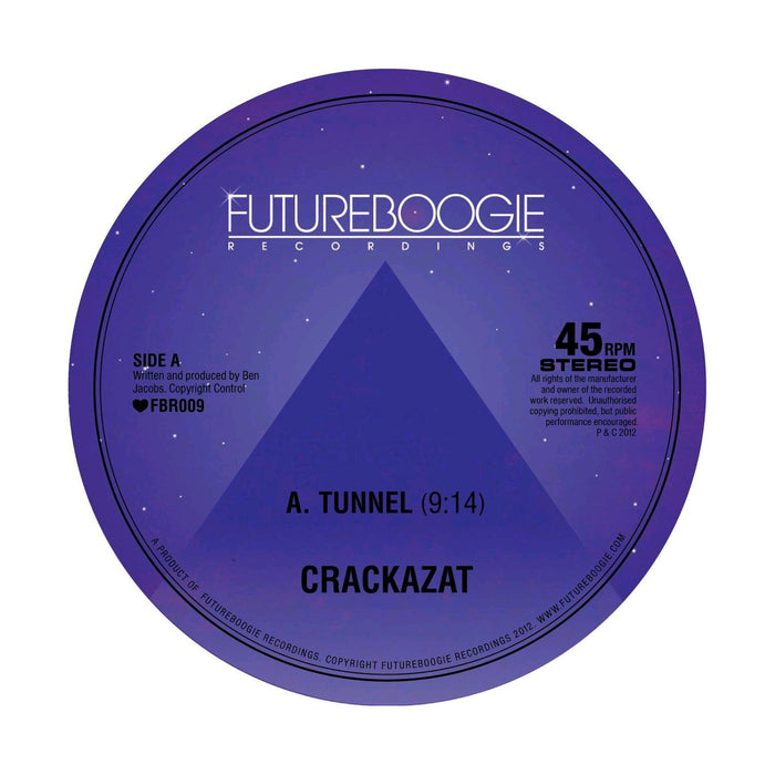 Crackazat Tunnel 2012 Electronic Dance House Music 12'' Single Vinyl Brand New