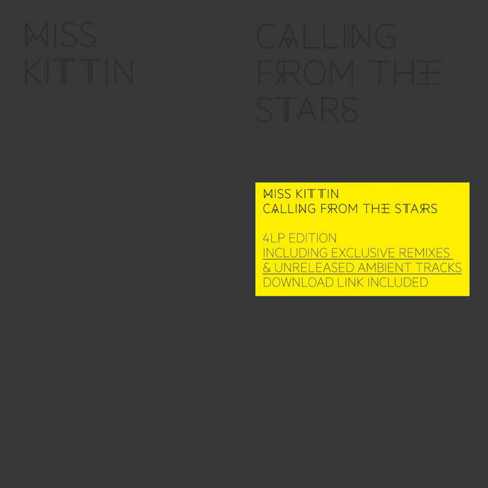 MISS KITTIN CALLING FROM THE STARS CLASH SYNTH LP VINYL NEW