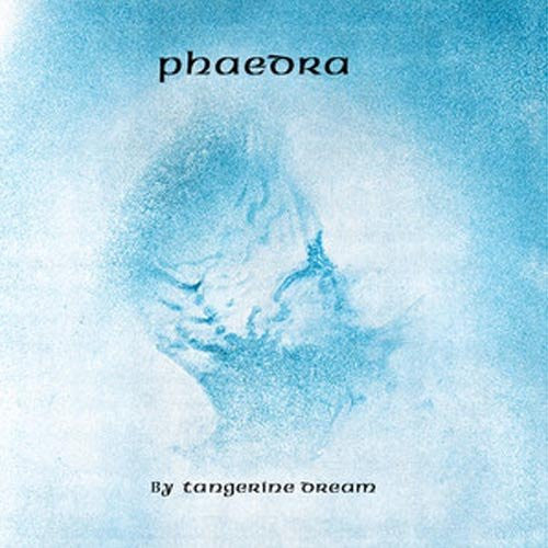 TANGERINE DREAM PHAEDRA LP VINYL 33RPM NEW