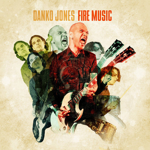 DANKO JONES FIRE MUSIC LP VINYL NEW (US) 33RPM