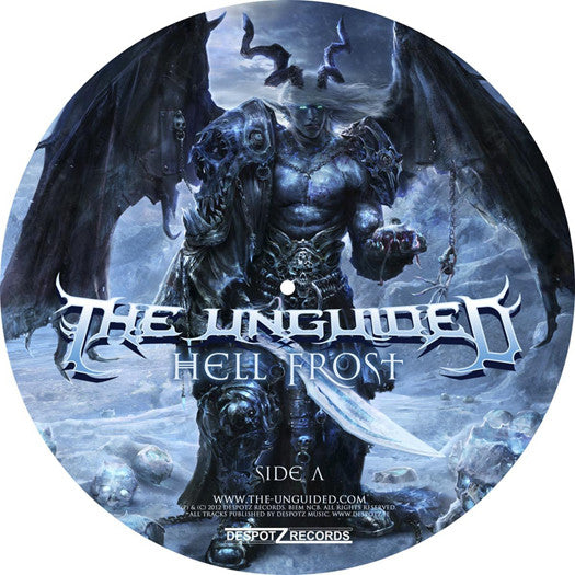 UNGUIDED HELL FROST LP VINYL NEW 33RPM LIMITED EDITION
