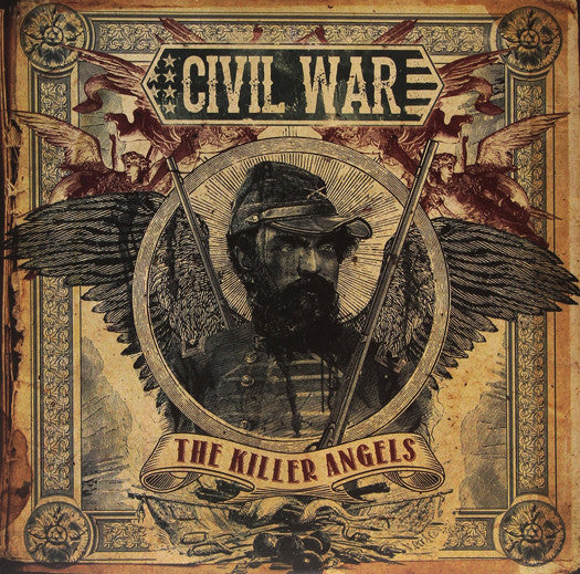 CIVIL WAR THE KILLER ANGELS DOUBLE LP VINYL NEW 33RPM