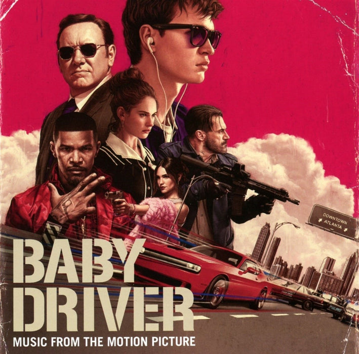 BABY DRIVER Soundtrack Vinyl LP2017
