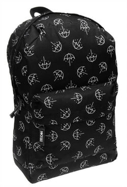 Bring Me The Horizon Black & White Umbrella Rucksack New with Tags
