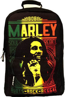 Bob Marley Roots Rock Rucksack New with Tags