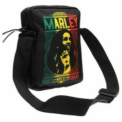 Bob Marley Roots Rock Print Cross Body Bag New with Tags