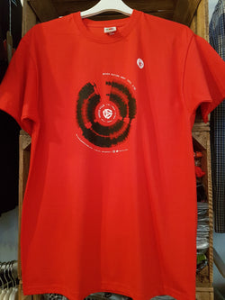 SEVEN NATION ARMY Audio-File T-SHIRT Mens MEDIUM New RED