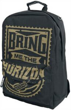 Bring Me The Horizon Gold Rucksack New with Tags