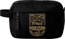 Bring Me The Horizon Gold Wash Bag New with Tags