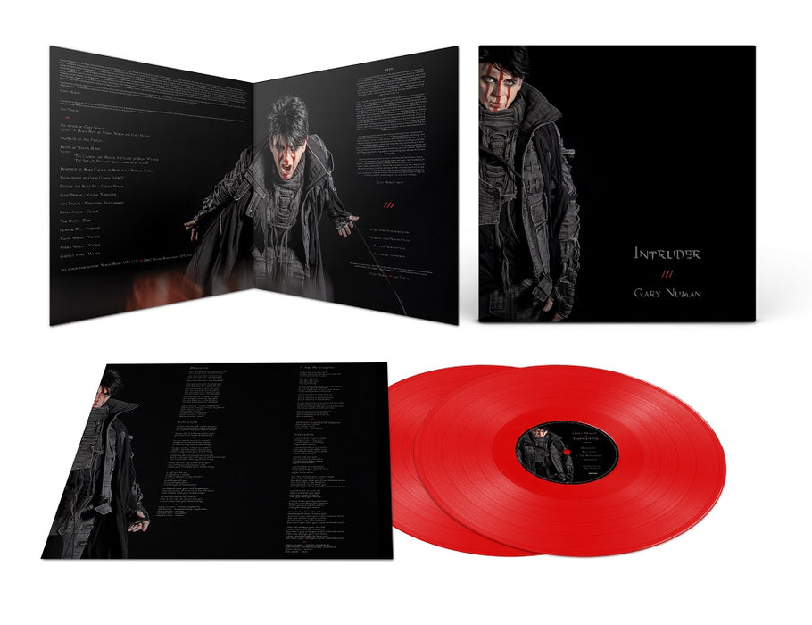 Gary Numan - Intruder Vinyl LP Indies Red Colour Due Out 21/05/21
