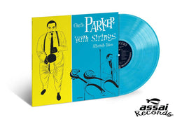 Charlie Parker with Strings Alternate Takes Blue Vinyl LP New RSD 2019